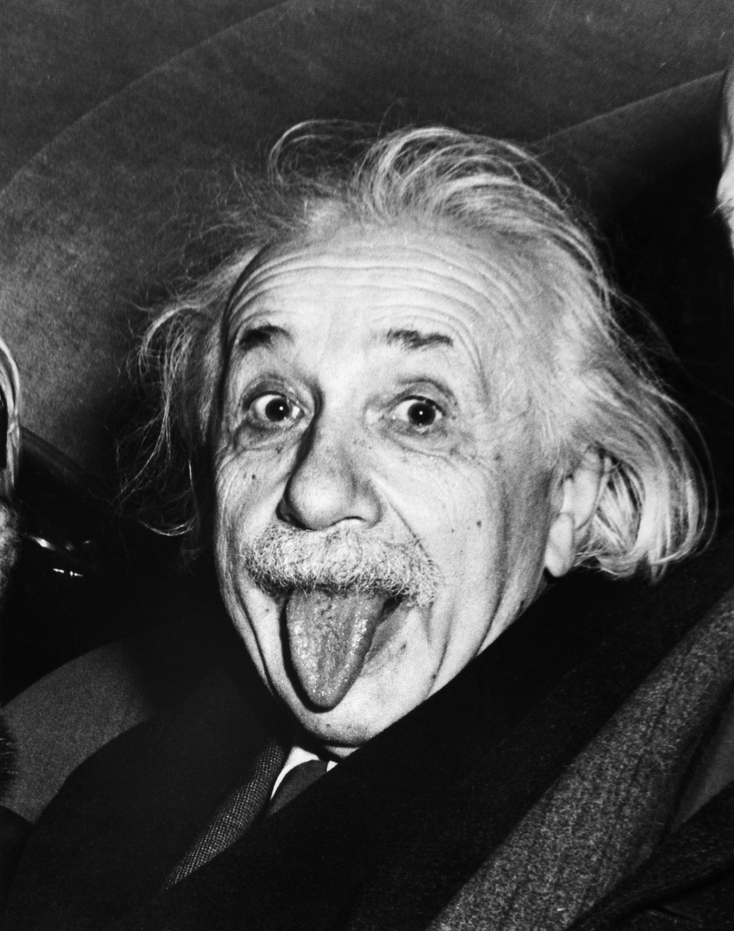 albert einstein - Albert Einstein - A problem cannot be solved