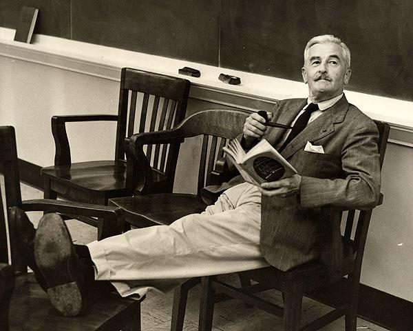 William Faulkner reading - William Faulkner - Read